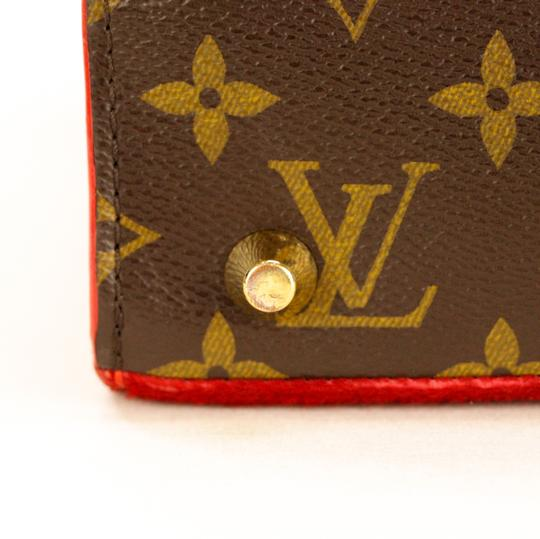 Louis Vuitton Monogram Iconoclast Christian Louboutin Tote in Brown/Red Image 5