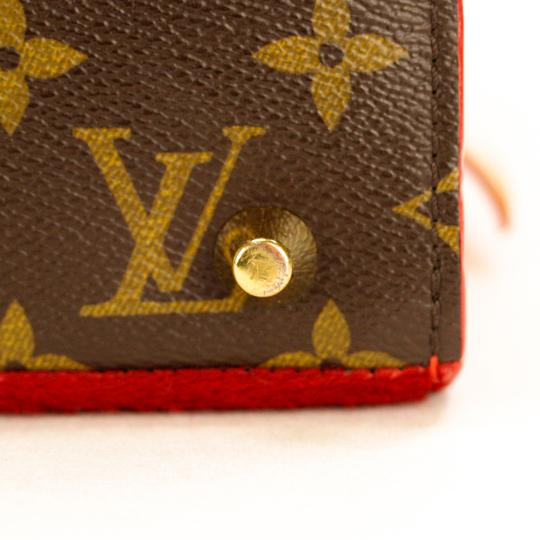 Louis Vuitton Monogram Iconoclast Christian Louboutin Tote in Brown/Red Image 6
