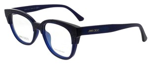 Jimmy Choo JC177-19P-51 Eyeglasses Size 51mm 17mm 145mm Blue