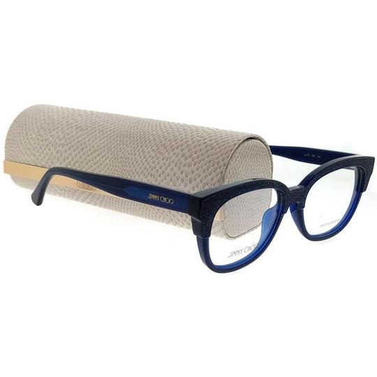 Jimmy Choo JC177-19P-51 Eyeglasses Size 51mm 17mm 145mm Blue Image 4