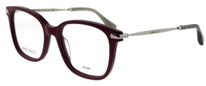 Jimmy Choo JC195-C9A-50 Eyeglasses Size 50mm 17mm 140mm Burgundy