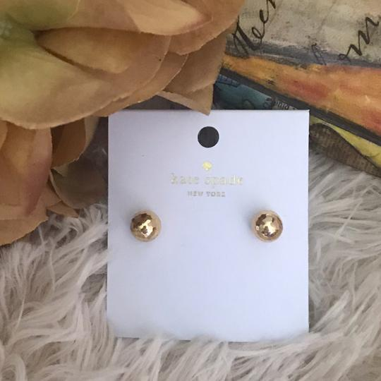 Kate Spade Kate Spade Gold Disco Ball Sphere Earrings Image 2