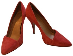Madewell red Pumps