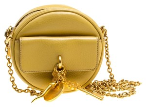 Dolce&Gabbana Leather Charm Shoulder Bag