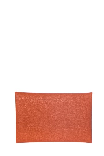 Preload https://img-static.tradesy.com/item/26008238/hermes-orange-calvi-pouch-0-0-540-540.jpg