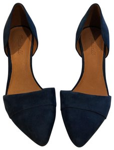 Madewell blue Pumps