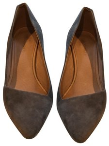 Madewell gray Pumps