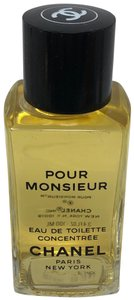 Chanel Chanel Pour Monsieur EDT concentrate splash 3.4 oz NEW