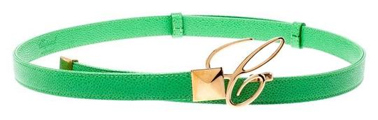 Chopard Chopard Green Leather Miss Happy Belt 105CM Image 0