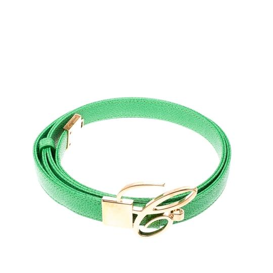 Chopard Chopard Green Leather Miss Happy Belt 105CM Image 2