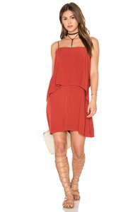 Splendid short dress Brick Red on Tradesy
