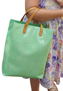 Louis Vuitton Limited Fall Monogram Handbag Tote in Green