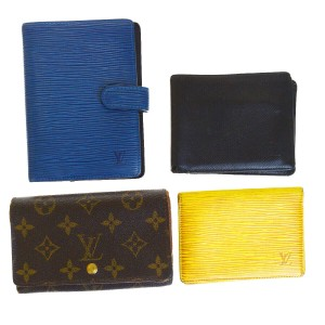 Louis Vuitton Authentic LOUIS VUITTON 4 Pile Card Case Wallet Agenda Monogram