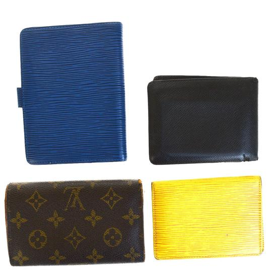 Louis Vuitton Authentic LOUIS VUITTON 4 Pile Card Case Wallet Agenda Monogram Image 1
