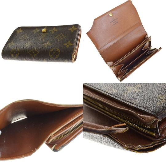Louis Vuitton Authentic LOUIS VUITTON 4 Pile Card Case Wallet Agenda Monogram Image 11