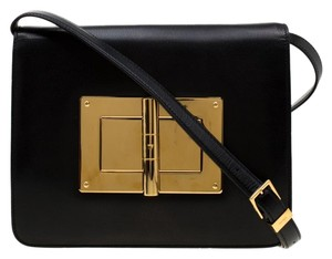 Tom Ford Suede Leather Shoulder Bag