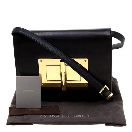 Tom Ford Suede Leather Shoulder Bag Image 10
