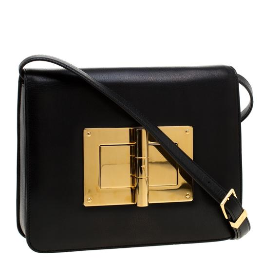 Tom Ford Suede Leather Shoulder Bag Image 3