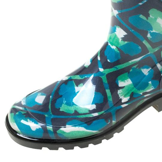 Burberry Rubber Floral Multicolor Boots Image 5