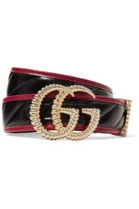 Gucci Brand New - Gucci Belt with Double G Torchon Buckle - Size 90