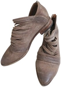Free People Ankle Leather Tan Boots