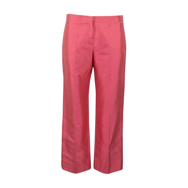 Item - Pink Cropped Cotton Blend Pants Size 4 (S, 27)