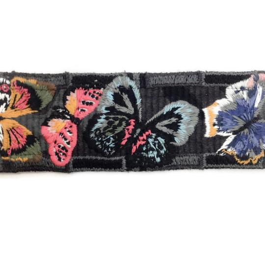 Valentino Multi Butterfly Guitar Strap Image 3