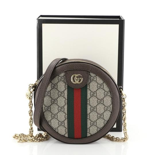 Gucci Ophidia Coated Canvas Cross Body Bag Image 1