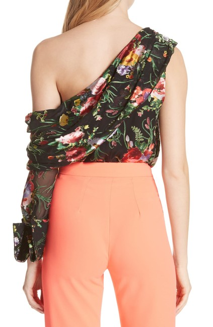 Alice + Olivia Top black , multi color Image 3