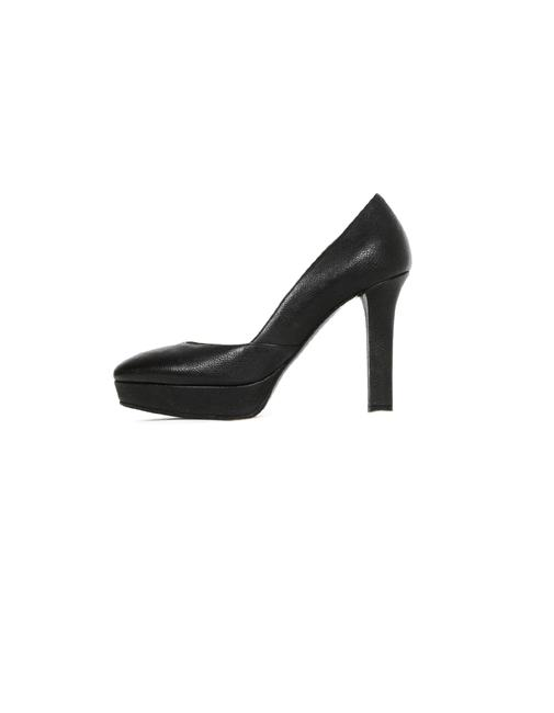 Item - Black Leather Platforms Size EU 35 (Approx. US 5) Narrow (Aa, N)