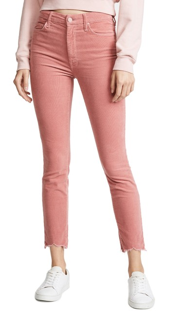 Item - Pink The Looker Ankle Chew Hem Skinny Jeans Size 26 (2, XS)