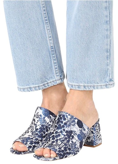 Jeffrey Campbell Blue Mules Image 0