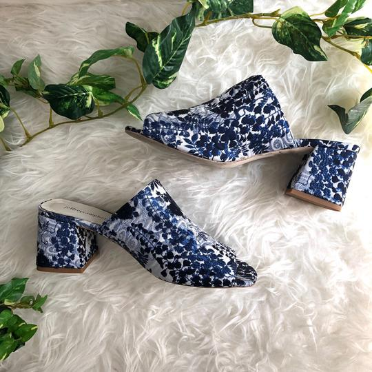 Jeffrey Campbell Blue Mules Image 1