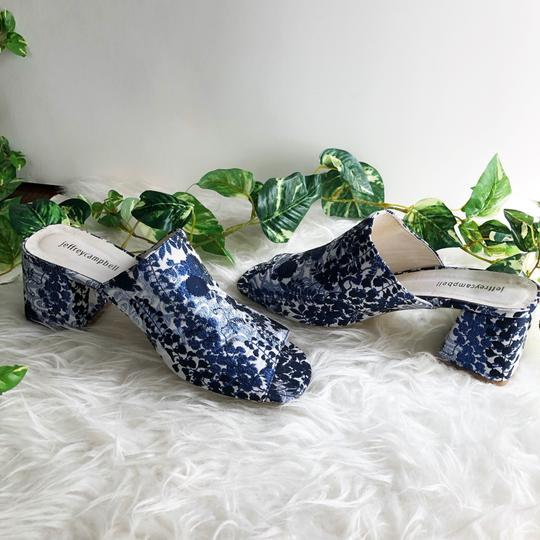 Jeffrey Campbell Blue Mules Image 7