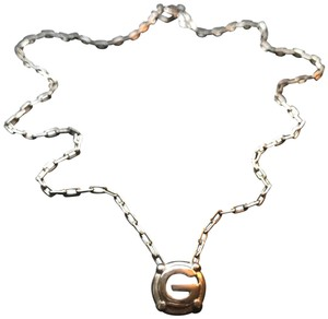 Givenchy Silver G Necklace