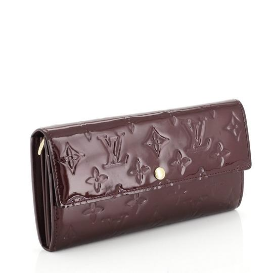Louis Vuitton Leather Wallet red Clutch Image 1