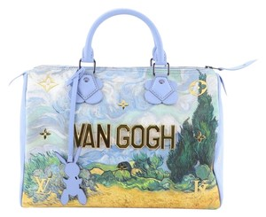 Louis Vuitton Canvas Tote in blue