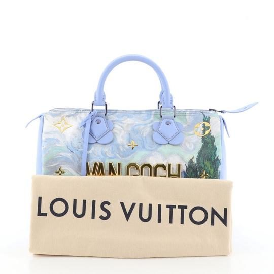 Louis Vuitton Canvas Tote in blue Image 1