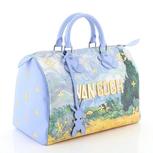 Louis Vuitton Canvas Tote in blue Image 2