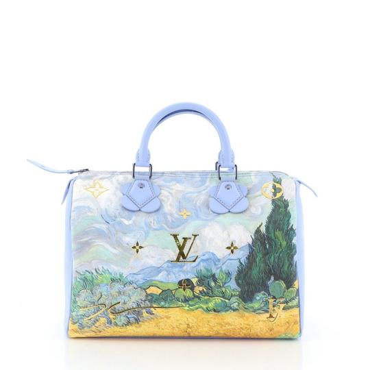 Louis Vuitton Canvas Tote in blue Image 3