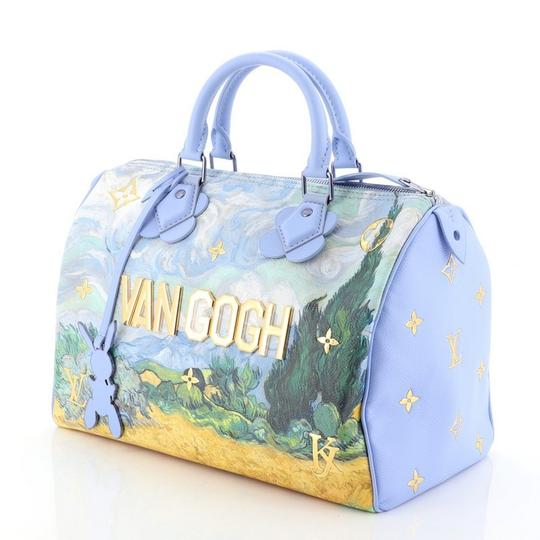 Louis Vuitton Canvas Tote in blue Image 5