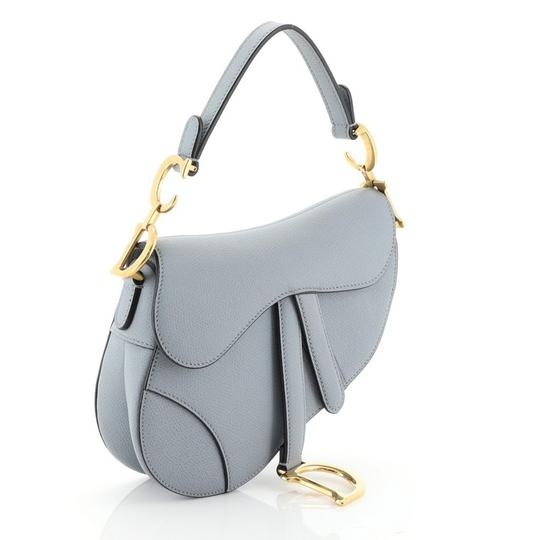 Dior Christian Leather Satchel in blue Image 1