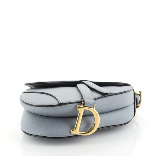 Dior Christian Leather Satchel in blue Image 3