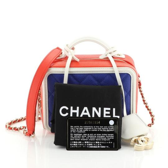 Chanel Leather Vanity Case Cross Body Bag Image 1
