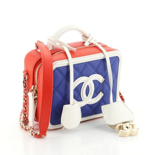 Chanel Leather Vanity Case Cross Body Bag Image 2
