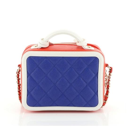 Chanel Leather Vanity Case Cross Body Bag Image 3