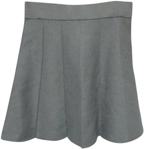 Ann Taylor Knit Skirt gray