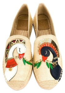 Tory Burch Natural/Multi Flats