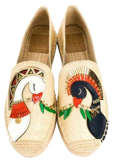 Tory Burch Natural/Multi Flats Image 0