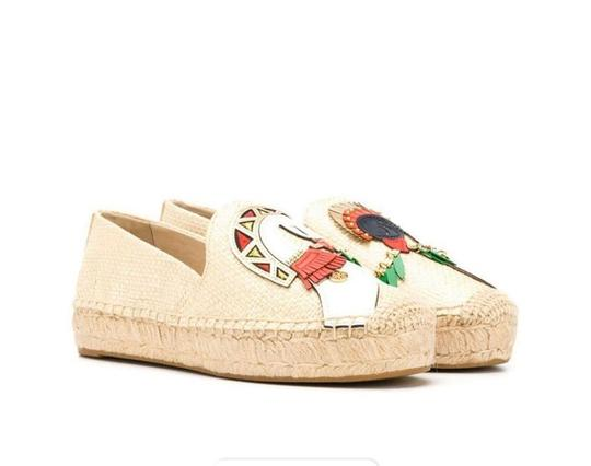 Tory Burch Natural/Multi Flats Image 1